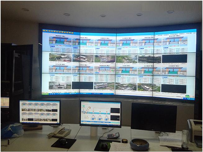 城市内河闸口远程监控系统