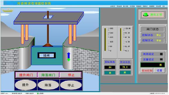 水闸远程控制系统