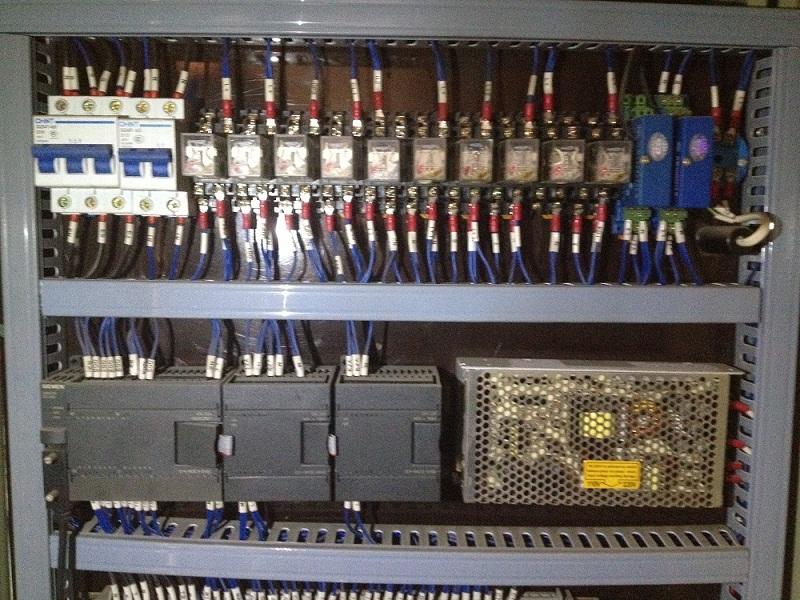 PLC控制柜内部实例